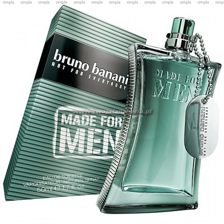 Bruno Banani Made For Men туалетная вода объем 50 мл (ОРИГИНАЛ)