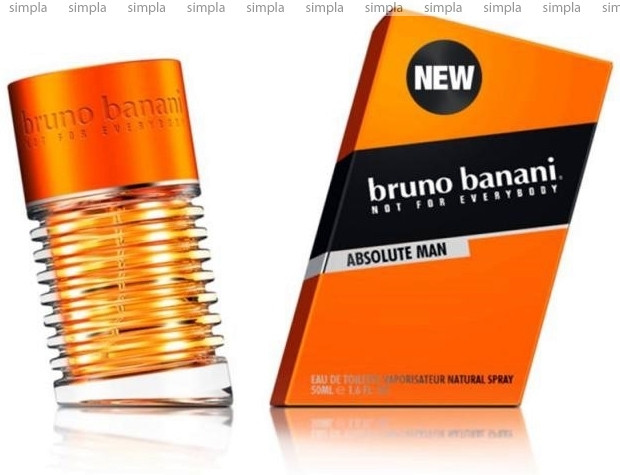 Bruno Banani Absolute Man туалетная вода объем 50 мл Тестер (ОРИГИНАЛ)