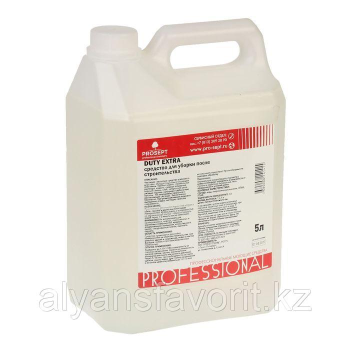 Средство для удаления строительных растворов Duty Extra (Суперконцентрат) 5 литров
