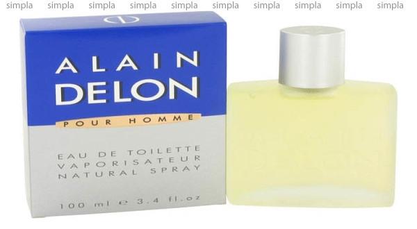 Alain Delon Pour Homme туалетная вода объем 100 мл (ОРИГИНАЛ)