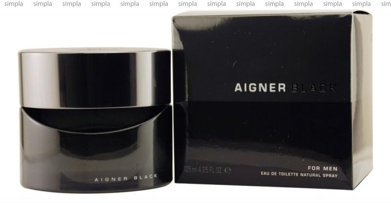 Aigner Black For Men туалетная вода объем 125 мл тестер (ОРИГИНАЛ)