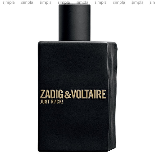 Zadig & Voltaire Just Rock! for Him туалетная вода объем 50 мл (ОРИГИНАЛ)