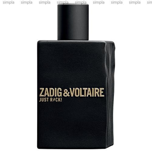 Zadig & Voltaire Just Rock! for Him туалетная вода объем 100 мл (ОРИГИНАЛ)