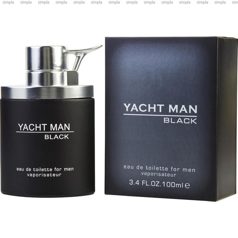 Myrurgia Yacht Man Black туалетная вода объем 100 мл (ОРИГИНАЛ)