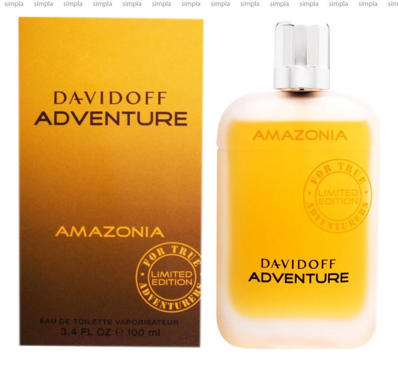 Davidoff Adventure Amazonia туалетная вода объем 100 мл тестер (ОРИГИНАЛ)