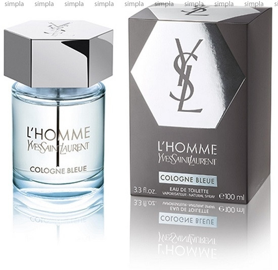 Yves Saint Laurent L'Homme Cologne Bleue туалетная вода объем 100 мл (ОРИГИНАЛ)