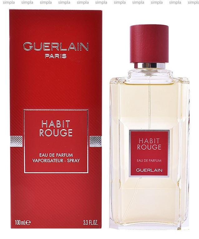 Guerlain Habit Rouge Eau de Parfum парфюмированная вода объем 100 мл (ОРИГИНАЛ)