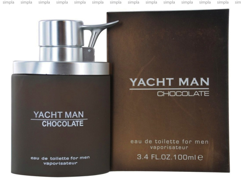 Myrurgia Yacht Man Chocolate туалетная вода объем 100 мл (ОРИГИНАЛ)