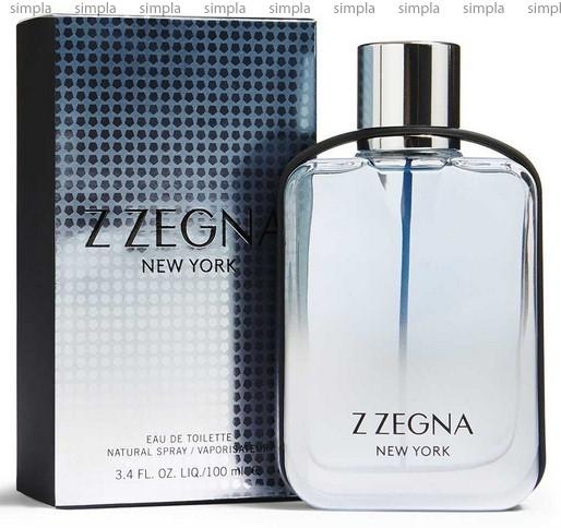 Ermenegildo Zegna Z Zegna New York туалетная вода объем 50 мл тестер (ОРИГИНАЛ)