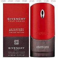 Givenchy Pour Homme Adventure Sensations туалетная вода объем 100 мл тестер (ОРИГИНАЛ)