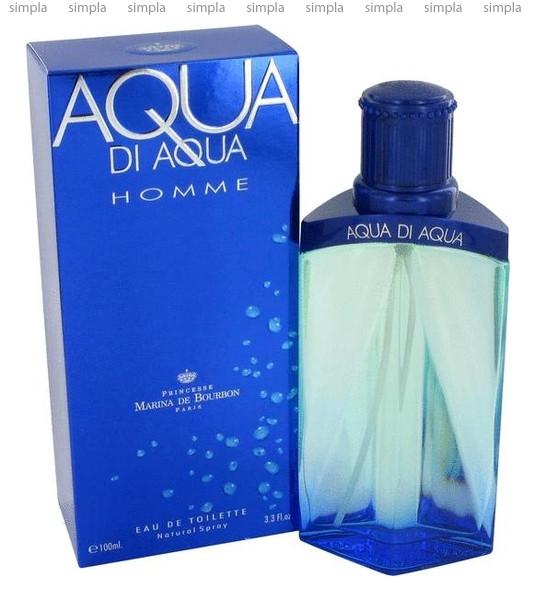 Marina de Bourbon Aqua di Aqua Homme туалетная вода объем 100 мл (ОРИГИНАЛ)