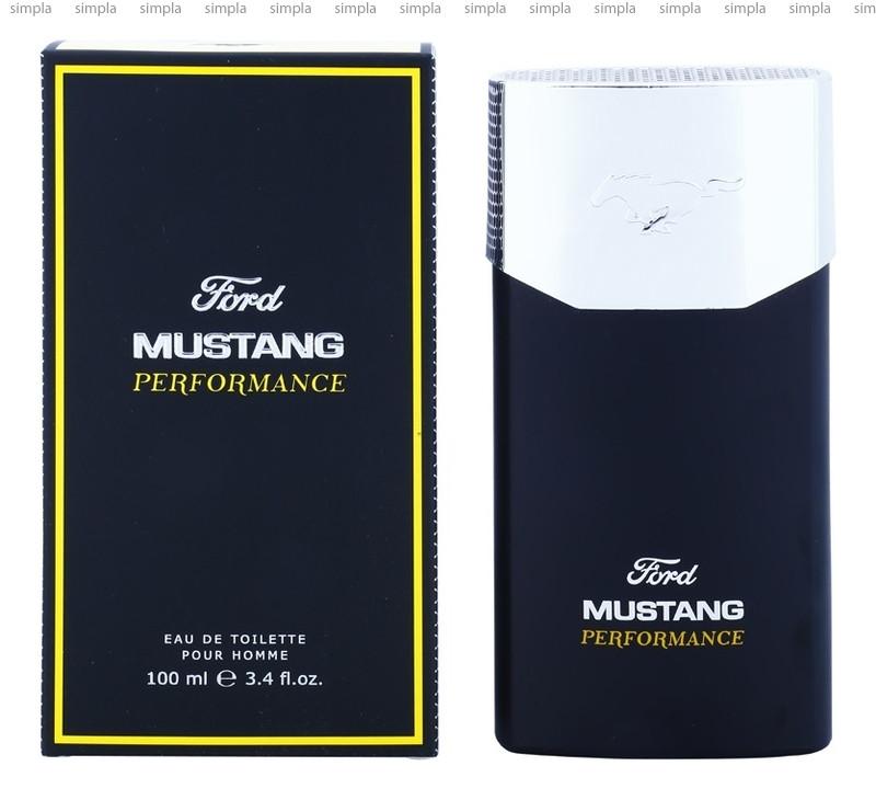 Mustang Performance туалетная вода объем 100 мл (ОРИГИНАЛ)