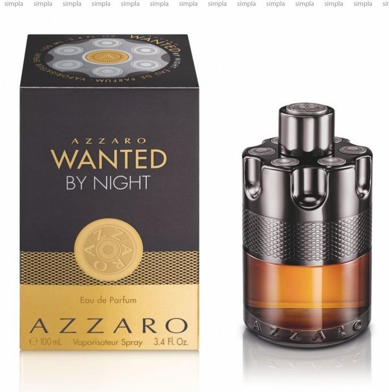 Azzaro Wanted by Night парфюмированная вода объем 100 мл (ОРИГИНАЛ)