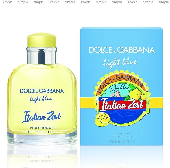 Dolce & Gabbana Light Blue Italian Zest Pour Homme туалетная вода объем 125 мл (ОРИГИНАЛ)