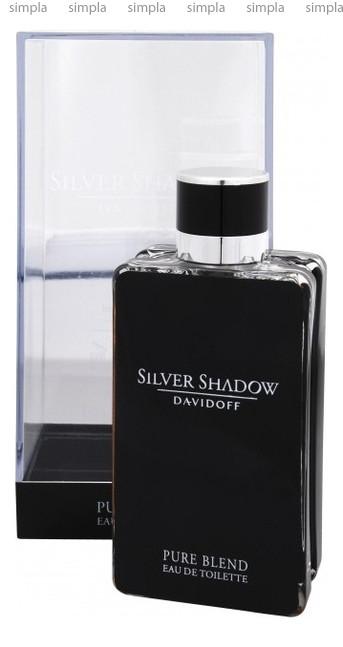 Davidoff Silver Shadow Pure Blend туалетная вода объем 100 мл (ОРИГИНАЛ)