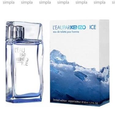 Kenzo L'Eau Par Kenzo Ice Pour Homme туалетная вода объем 50 мл тестер (ОРИГИНАЛ)