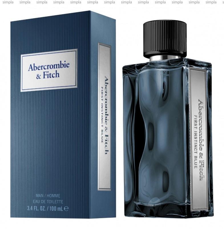 Abercrombie & Fitch First Instinct Blue Man туалетная вода объем 100 мл тестер (ОРИГИНАЛ)