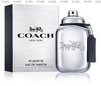 Coach Platinum парфюмированная вода объем 60 мл (ОРИГИНАЛ)