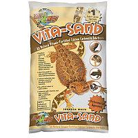 Zoo Med Витаминизированный кальциенизированный субстрат для террариума Vita Sand Sonoran White 4,5кг арт.VW-10