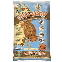 Zoo Med Витаминизированный кальциенизированный субстрат для террариума Vita Sand Baja Blue 4,5кг арт.VB-10