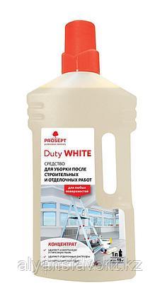 DUTY WHITE - Удалитель строительной пыли для уборки после строительных и отделочных работ. 1 л, фото 2