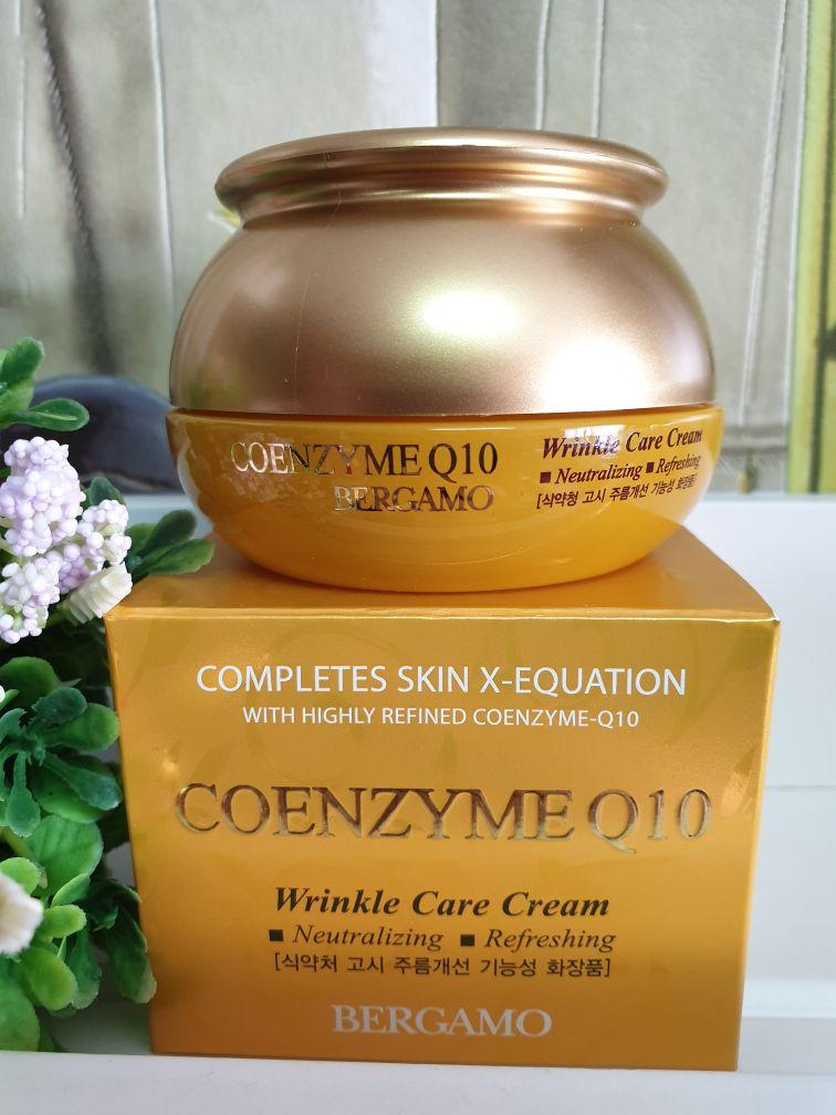 Крем для лица Bergamo Coenzyme Q10 Wrinkle Care Cream 50 g.