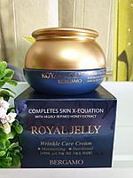 Крем для лица Bergamo Royal Jelly Wrinkle Care Cream 50g.
