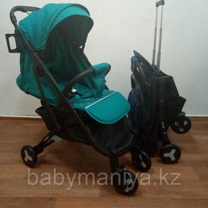 Коляска прогулочная Mstar (Baby Grace) Бирюза