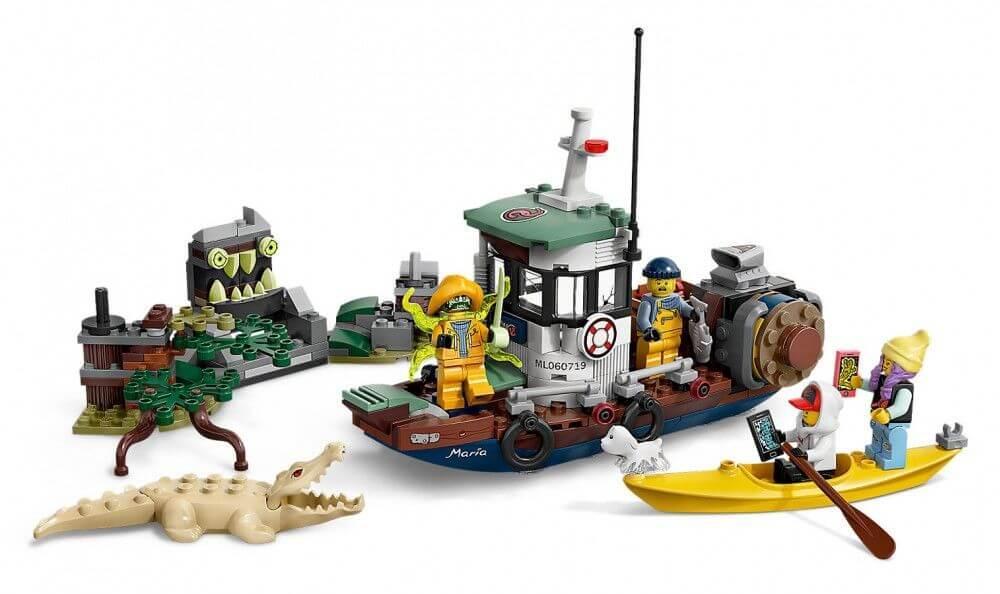 LEGO: Старый рыбацкий корабль Hidden Side 70419