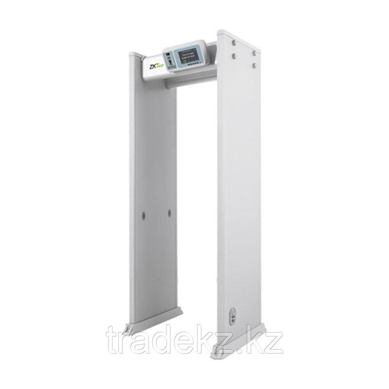 Арочный металлодетектор ZKTeco ZK-D4330, 33 зоны, степень защиты IP65