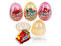 Яйцо с карамелью и игрушкой Поезд Express (12 шт в упаковке)