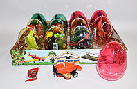 Яйцо с карамелью и игрушкой Самолёт AIR FORCE (12 шт в упаковке)