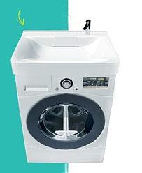 Раковина над стиральной машиной Laundry 600 х 600 х 110 мм. (POLYTITAN)