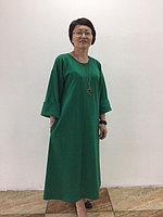 Платье зеленое трапеция, фото 1