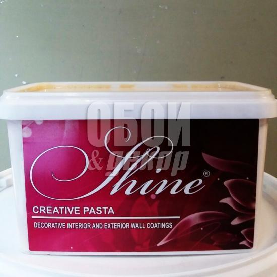 Перламутровый лак Shine creative pasta