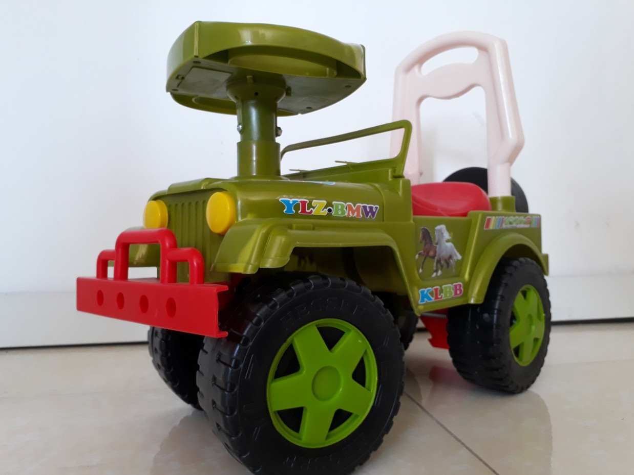 Толокар каталка для ребенка Джип. Kaspi RED. Рассрочка.