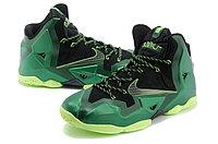 Баскетбольные кроссовки Nike LeBron 11 (XI) Green