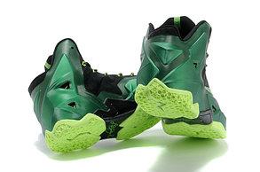 Баскетбольные кроссовки Nike LeBron 11 (XI)  Green, фото 3