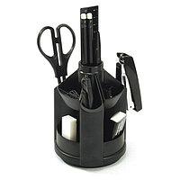 Набор настольный канцелярский 12 предметов Erich Krause Mini Desk Fregatte, черный