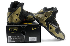 Баскетбольные кроссовки Nike LeBron 11 (XI)  Gold, фото 3