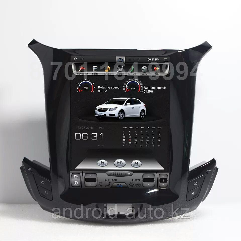 Штатная магнитола Chevrolet Cruze 2017-2020 DSK Tesla Style