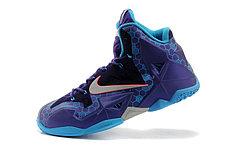 Баскетбольные кроссовки LeBron 11 (XI) Elite Deep Purple, фото 2