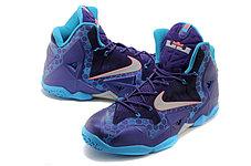 Баскетбольные кроссовки Nike LeBron 11 (XI) Elite Deep Purple, фото 3