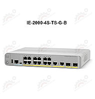 IE 2000 with 4-port SFP, 2-port GE SFP uplinks, LAN Base ima