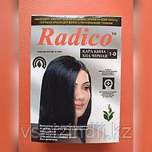 Травяная краска для волос  Radico черный, 1 пакетик