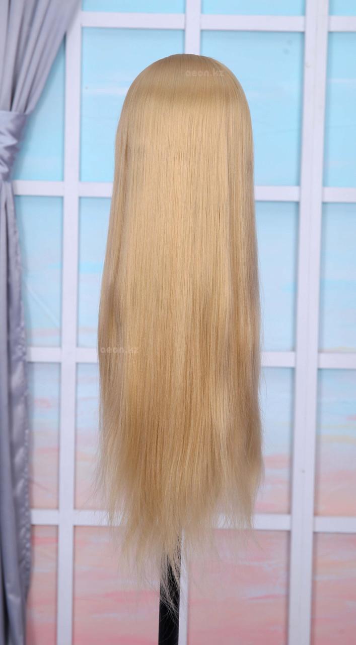 Голова-манекен (аниме) светло русый волос искусственный - 60 см - фото 4