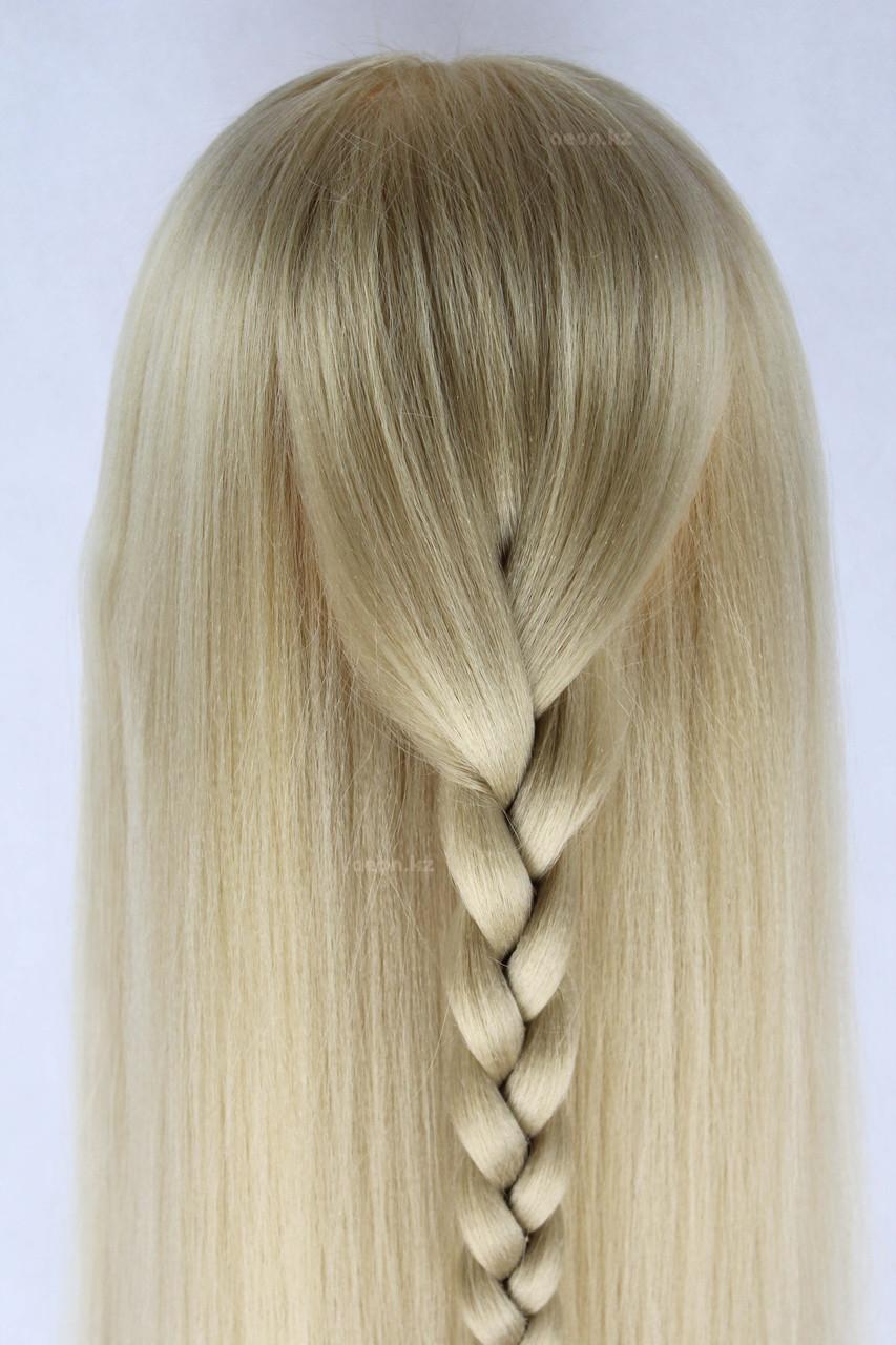 Голова-манекен (аниме) светло русый волос искусственный - 60 см - фото 9