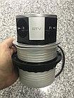 Удлинитель круглый врезной 4 розетки COMFORT (Schucko), провод 1,5м, алюминий GTV, фото 2