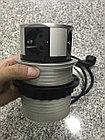 Удлинитель круглый врезной 4 розетки COMFORT (Schucko), провод 1,5м, алюминий GTV, фото 3