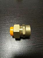 Муфты d15 для газовой гофрированной трубы с внутренней  или наружней резьбой Россия, фото 1